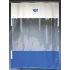 Goff's Stock Curtain 6' W x 8' H, Single Curtain w/ Hardware