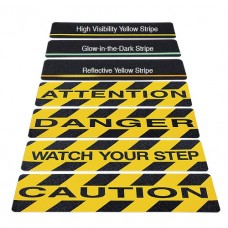 "Incom WATCH YOUR STEP - Anti-Slip Cleat, 6"" x 24"", 10/Pk"