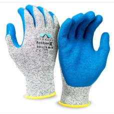 Pyramex ArchonX GL501C5 Crinkle Latex Cut Protection Level 4 Work Glove, 1 Pair