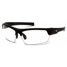 Venture Gear Tensaw VGSB310T Safety Glasses Black Frame Clear Anti Fog Lens