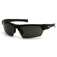 Venture Gear Tensaw VGSB323 Safety Glasses Black Frame Gray Polarized Lens