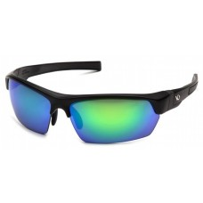 Venture Gear Tensaw VGSB331 Safety Glasses Black Frame Green Mirror Polarized Lens