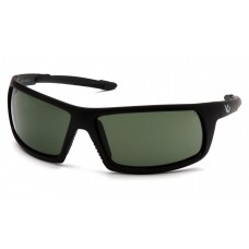 Venture Gear Stonewall VGSB422T Safety Glasses - Black Frame - Forrest Gray Anti Fog Lens - (CLOSEOUT)