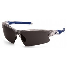 Pyramex Monteagle VGSC1620T Safety Glasses Gray Anti-Fog Lens with Clear Frame