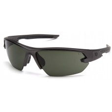 Venture Gear VGSGM1422T Semtex 2.0 Safety Glasses Gun Metal Frame Forest Gray Anti-Fog Lens