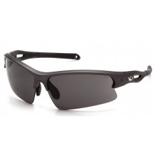 Pyramex Monteagle VGSGM1620T Safety Glasses Gray Anti-Fog Lens with Gunmetal Frame