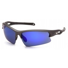 Pyramex Monteagle VGSGM1665T Safety Glasses Ice Blue Mirror Anti-Fog Lens with Gunmetal Frame
