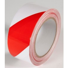 "Incom WT2200 Red / White Hazard Tape - 2"" x 108'"