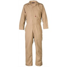 Saf-Tech 4.5 oz Nomex IIIA Contractor FR Coverall - Khaki