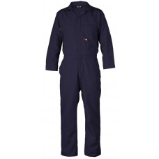 Saf-Tech 4.5 oz Nomex IIIA Contractor FR Coverall - Navy
