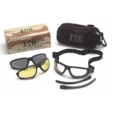 Pyramex XSG Kit GB4010KIT Interchangeable Ballistic Rated Lens Kit